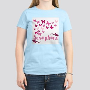 Butterfly Saxophone Women's T-Shirt