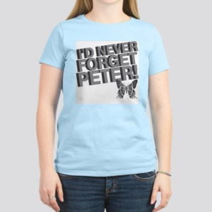 Never Forget Peter Women's Light T-Shirt