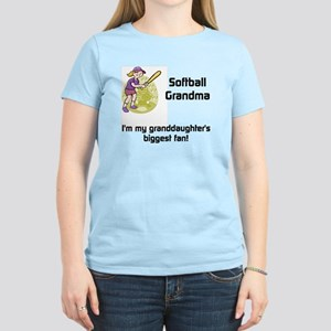 personalized Softball Grandma Women's Light T-Shir
