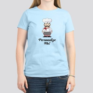Personalized French Chef Women's T-Shirt