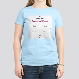 Transsexual Woman - Women's Pink T-Shirt