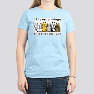 Takes a Village, Feral Cats Women's Light T-Shirt