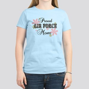 Air Force Mom [fl camo] Women's Light T-Shirt