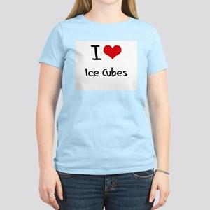 I Love Ice Cubes T-Shirt