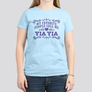 Funny Yia Yia Women's Light T-Shirt
