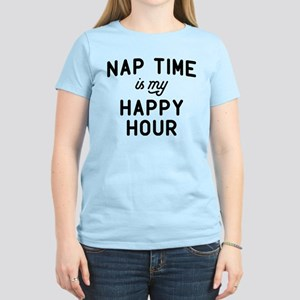 Nap Time Is My Happy T-Shirt