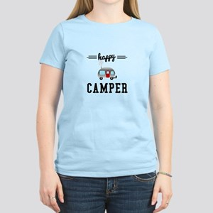 Happy Camper Women's Light T-Shirt