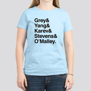 Grey, Yang, Karev, Stevens, Omalley Women's Light