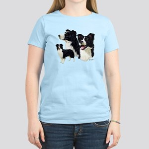 Border Collie Women's Light T-Shirt