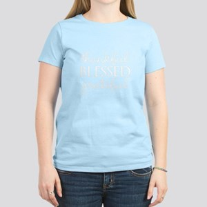 thankful BLESSED grateful T-Shirt