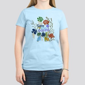 Save the Oceans Women's Light T-Shirt