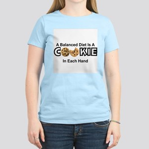 A BALANCED DIET IS A COOKIE IN EACH HAND T-Shirt