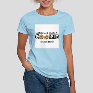 A BALANCED DIET IS A COOKIE IN EACH HAND T-Shirt