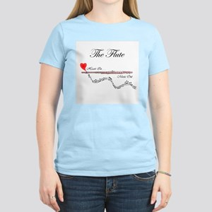 'The Flute' Women's Light T-Shirt