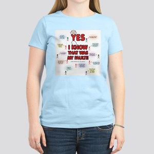 My Fault Women's Light T-Shirt