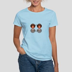 Imagine Rose Colored Glasses Women's Light T-Shirt