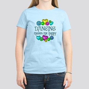 Dancing Happiness Women's Light T-Shirt