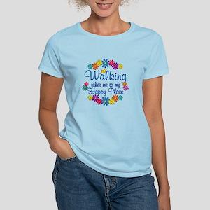 Walking Happy Place Women's Light T-Shirt