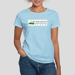 dog loves me-more dog breeds T-Shirt