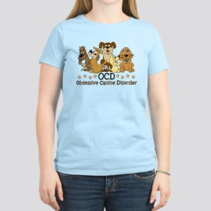 OCD Obsessive Canine Disorde Women's Light T-Shirt