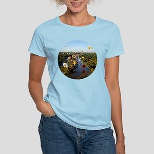 Balloon River Flight White T-Shirt