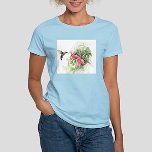 Hummingbird_Card Women's Light T-Shirt