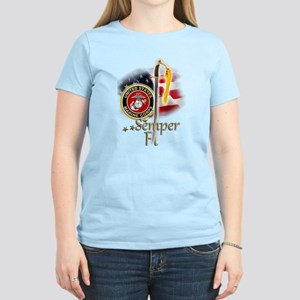 Semper Fi: Women's Light T-Shirt