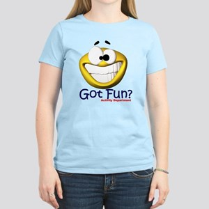 Got Fun? Activity Department Women's Pink T-Shirt