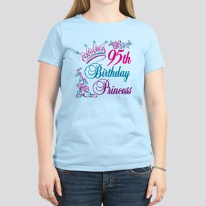 95th Birthday Princess Women's Light T-Shirt