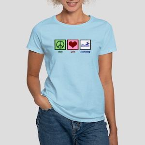 Peace Love Swimming Women's Classic T-Shirt