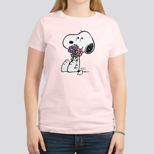 Springtime Snoopy Women's Light T-Shirt