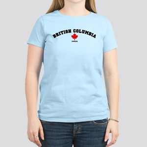 British Columbia Women's Light T-Shirt