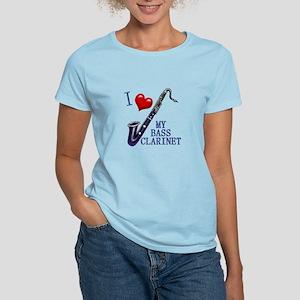 I Love My BASS CLARINET Women's Light T-Shirt