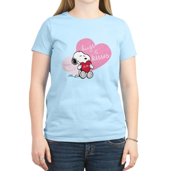 Snoopy Hugs and Kisses - Personalized