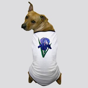 Stained Glass Iris Dog T-Shirt