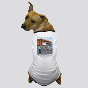 Shopping Cartoon 9392 Dog T-Shirt