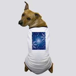 Snowflakes Dog T-Shirt