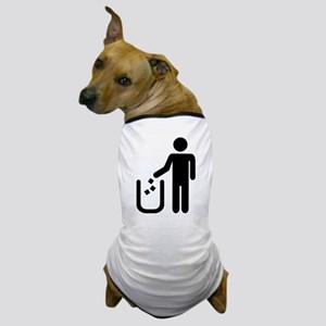 Litter waste garbage Dog T-Shirt
