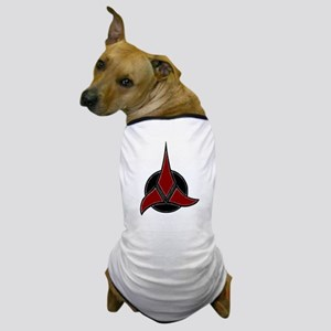 Klingon Badge 2 Dog T-Shirt
