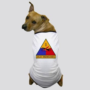 1st_US_Armored_Division_SSI Dog T-Shirt