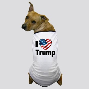 I Heart Trump Dog T-Shirt