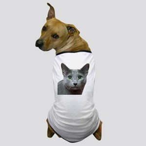 RBlue_smaller Dog T-Shirt