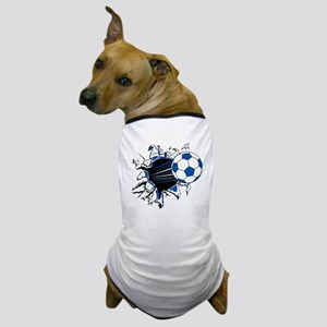 Soccer Ball Burst Dog T-Shirt