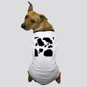 Black/White Cow Dog T-Shirt