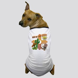 New Mexico Tequila Worm Siesta Dog T-Shirt