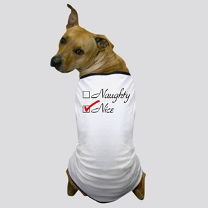Nice-check Dog T-Shirt