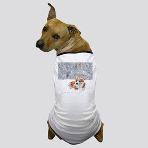 Corgi Winter Snow Dog T-Shirt