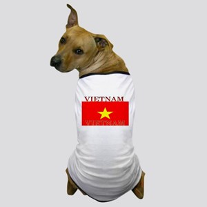 Vietnam Vietnamese Flag Dog T-Shirt