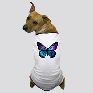 Galactic Butterfly Dog T-Shirt