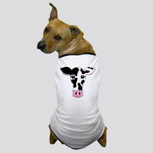 Sweet Cow Face Design Dog T-Shirt